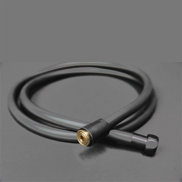 Shower hose PVC 1.5m with anti-twist mechanism