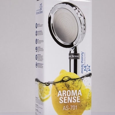 AS-701 shower head filters lime scale, rust and other pollution.