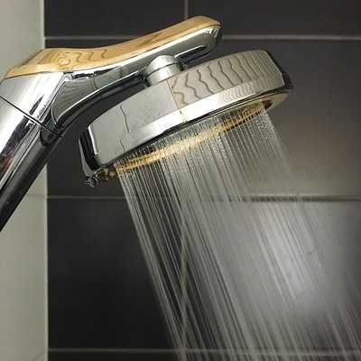 AS-Prestige Aroma Sense high pressure shower Gold model