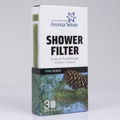 Pine Aroma for Aroma Sense high pressure shower head