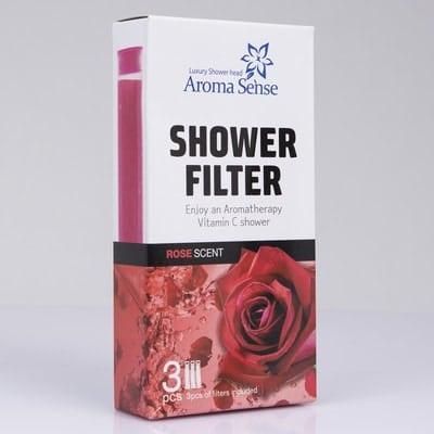 Rose Aroma for Aroma Sense high pressure shower head