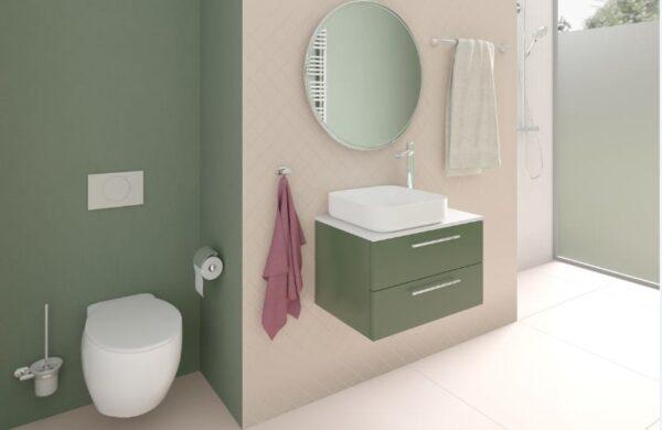 ESTE pyyhekoukku kromi tyylikäs ovaalin muotoinen koukku, johon ripustat pyyhkeen tai kylpytakin.